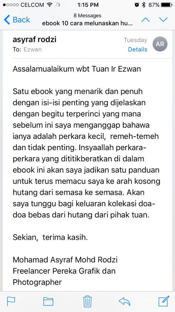 Pakej Ebook 5 Amalan Rezeki 10 Cara Lunas Hutang