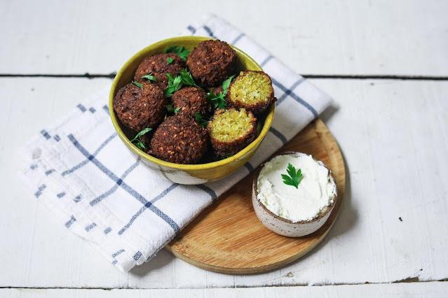 falafel ervilha