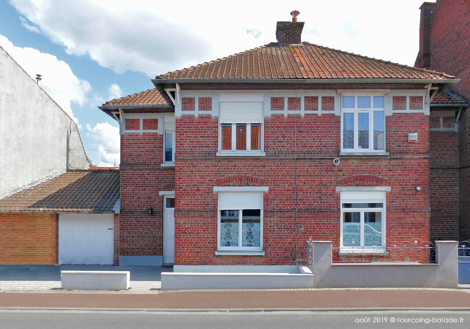 Maisons Jumelles Ouvrières du Blanc Seau, Tourcoing 2019