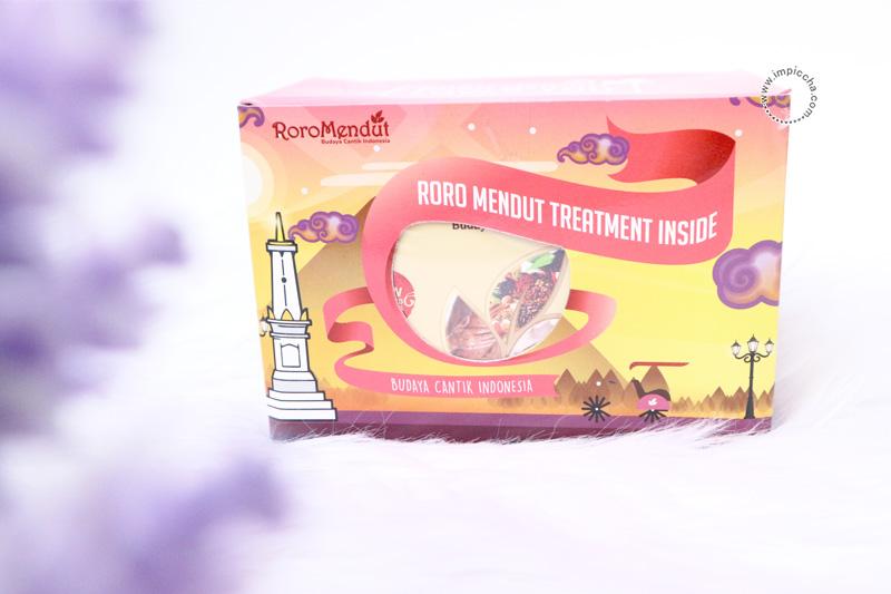 Packaging Lulur dan Masker Rempah Hitam Roro Mendut