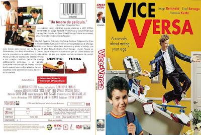 Carátula dvd: Viceversa (1988) Vice Versa