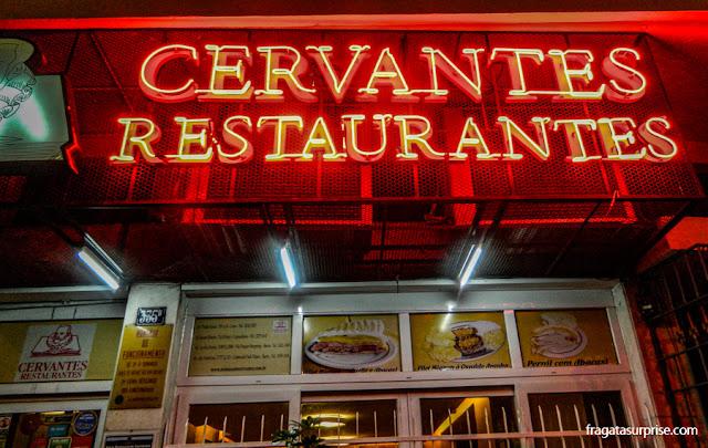 Restaurante Cervantes, Rio de Janeiro
