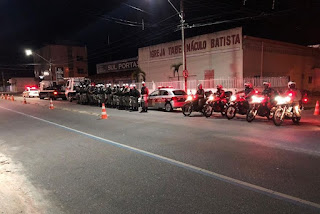Polícia Militar da Paraíba apreende 22 motos e veículos só serão liberados após proprietários regularizar o cano de escape