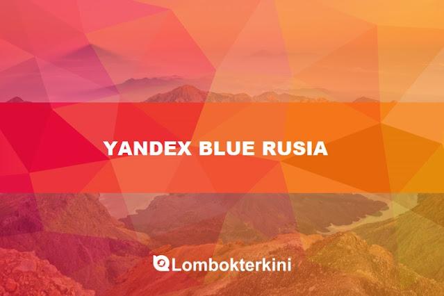 Yandex Blue Rusia