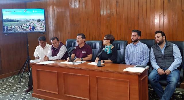 En marcha la recuperación del cerro Zapotecas, estado y federación apoyan: Luis Alberto Arriaga