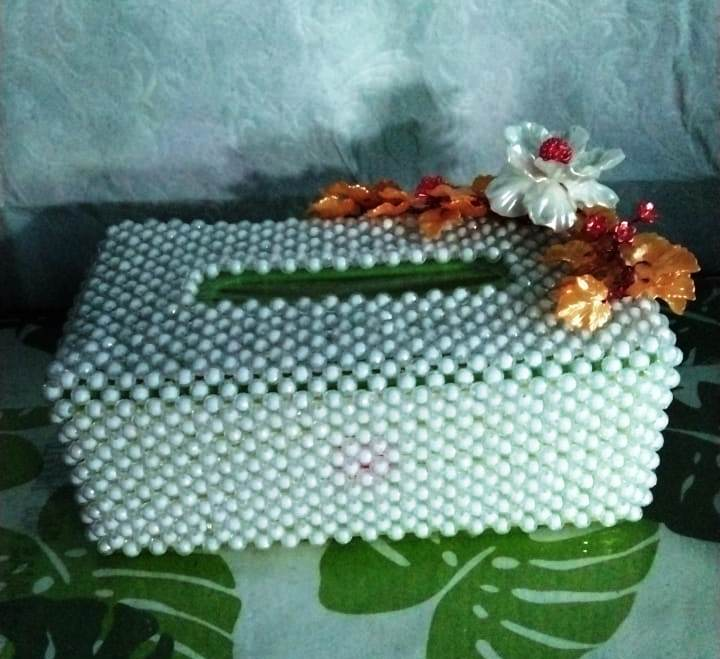 Kotak Tisu Cantik - made by Berlian Craft Yogya