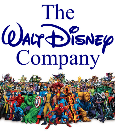 The case of disney and marvel