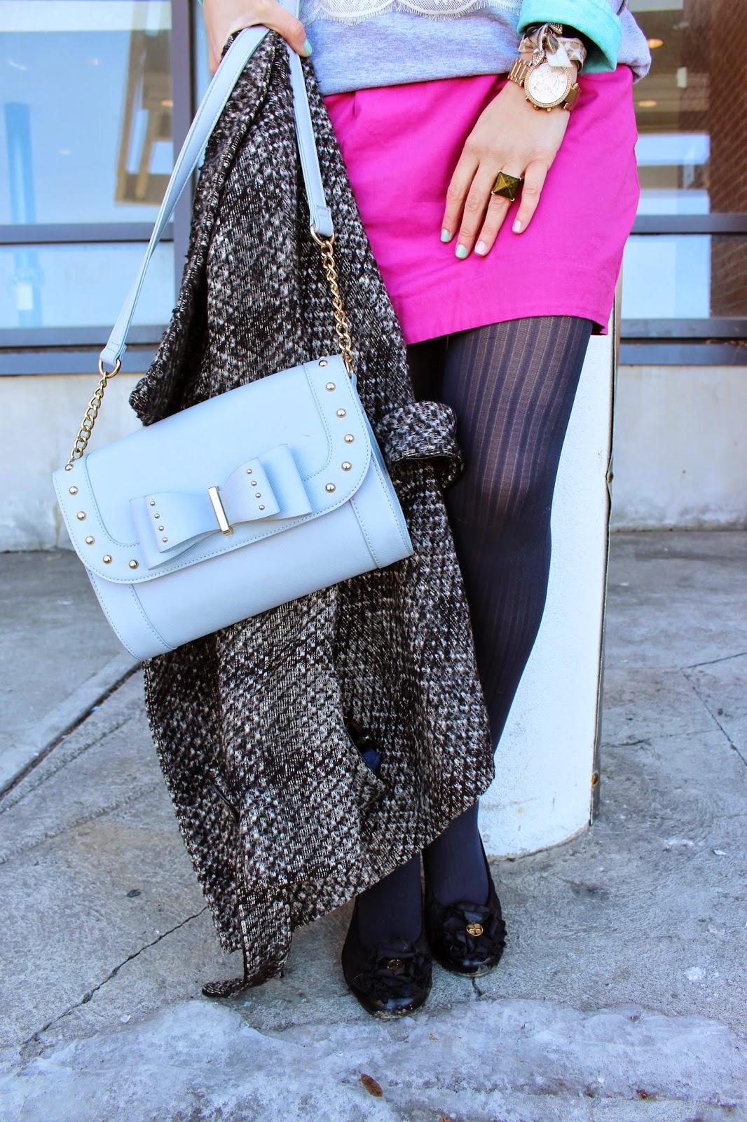 bijuleni - bow handbag
