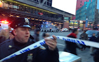 NYC EXPLOSION: MIDTOWN MANHATTAN LOCKED DOWN AFTER REPORTS OF NEW YORK BUS TERMINAL 'EXPLOSION