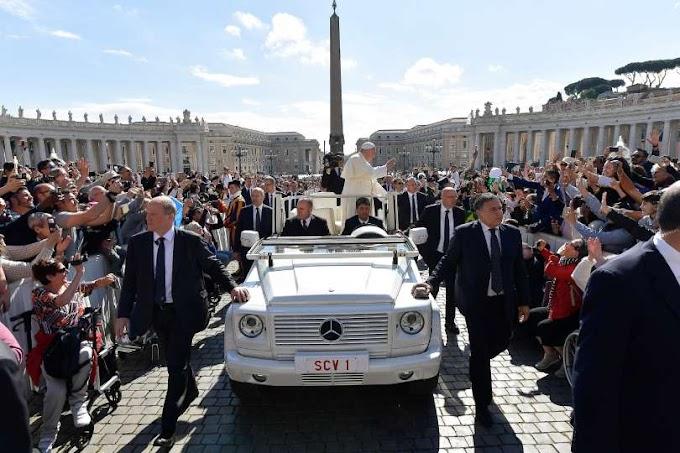 """Papa Francesco: """"Chi può renderci Sale della Terra è soltanto lo Spirito di Cristo"""""""