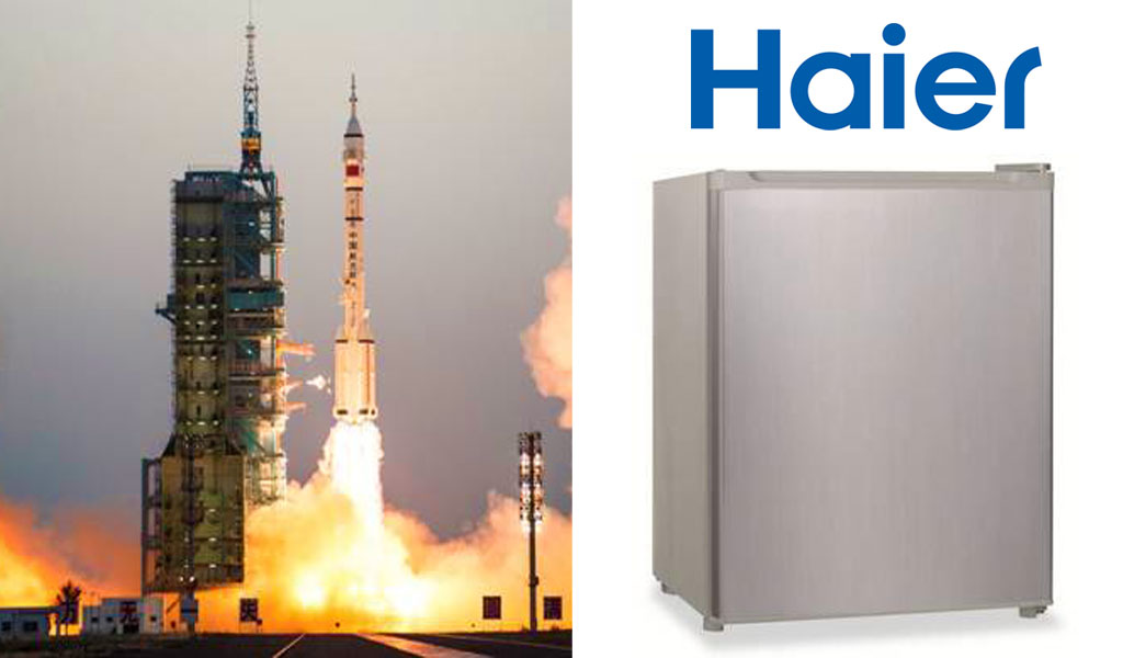 Haier joins Shenzhou XI Space Launch with its Space Refrigerator