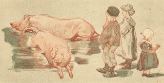 Paul Renouard croque les animaux de la ferme