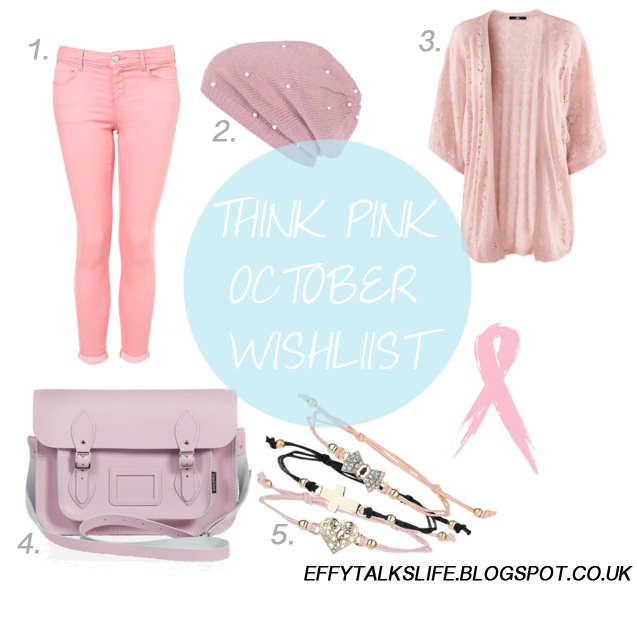 Think Pink October Wishlist