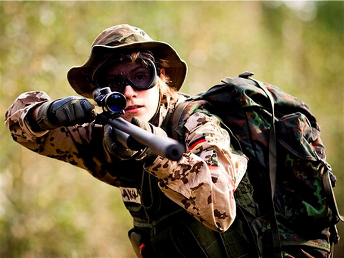 women army sniper wallpaper - photo #4