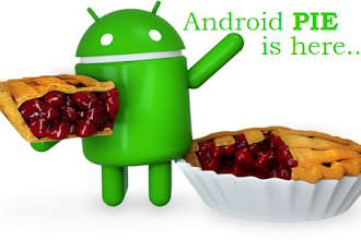Here is Android P for 'Pie'