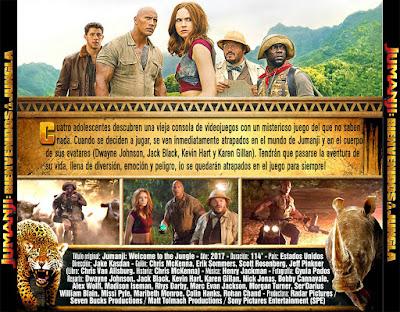 Jumanji - Bienvenidos a la jungla - [2017]
