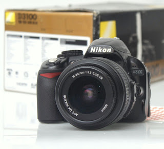 jual kamera dslr nikon d3100 bekas