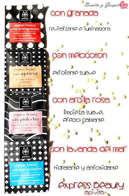 express beauty apivita mascarillas