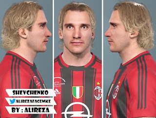 PES 2020 Faces Andriy Shevchenko by AliReza