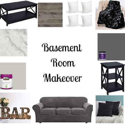 Basement Room Makeover