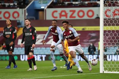 ملخص واهداف مباراة ليفربول واستون فيلا (2-7) الدوري الانجليزي