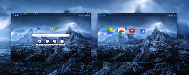 Dreamy Night Google Theme  | Chrome Web Store