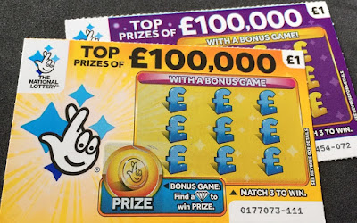 National Lottery Scratch Cards From 2019