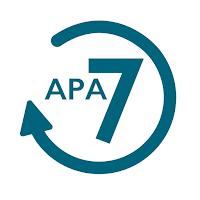 APA 7 transition logo