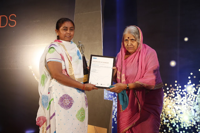 Ambuja Cement Foundation's women federation wins 'Sandvik India Gender Award 2018'