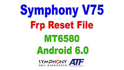 Symphony V75 Frp Reset File