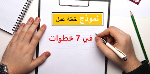7 خطوات لإعداد خطة عمل ناجحة.