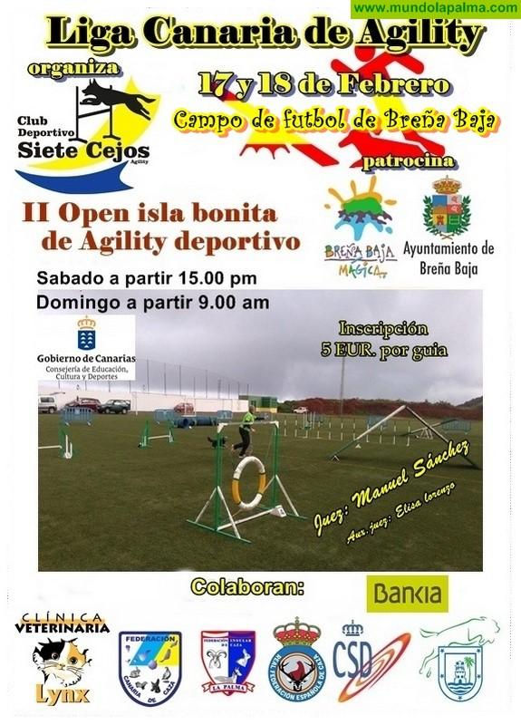 "BREÑA BAJA: II Open ""Isla Bonita"" de Agility deportivo"
