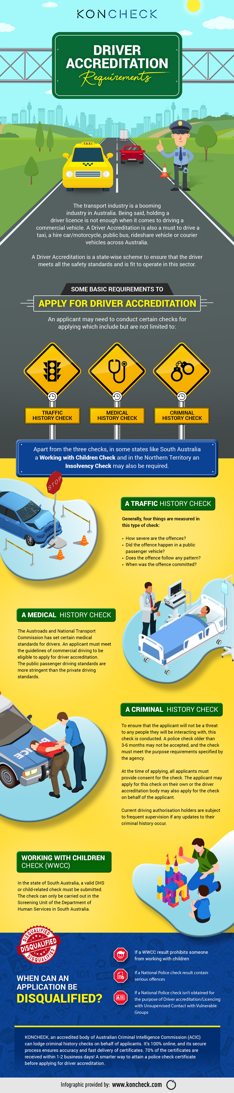Driver Accreditation Requirements #infographic