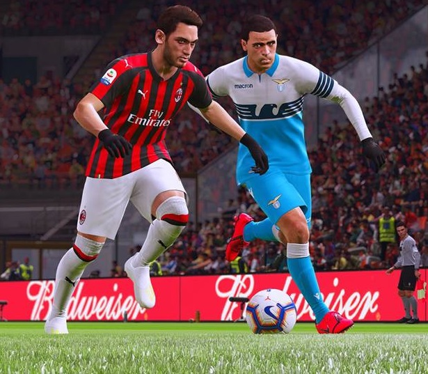 PES 2019 REAL SOCCER Gameplay Mod v2 4 ( Slower Paced ) by