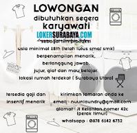 Lowongan Kerja Surabaya di Nuun Laundry Agustus 2020