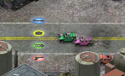 لعبة سباق الموت والسيارات الحربيه اون لابن  Death Racers online game