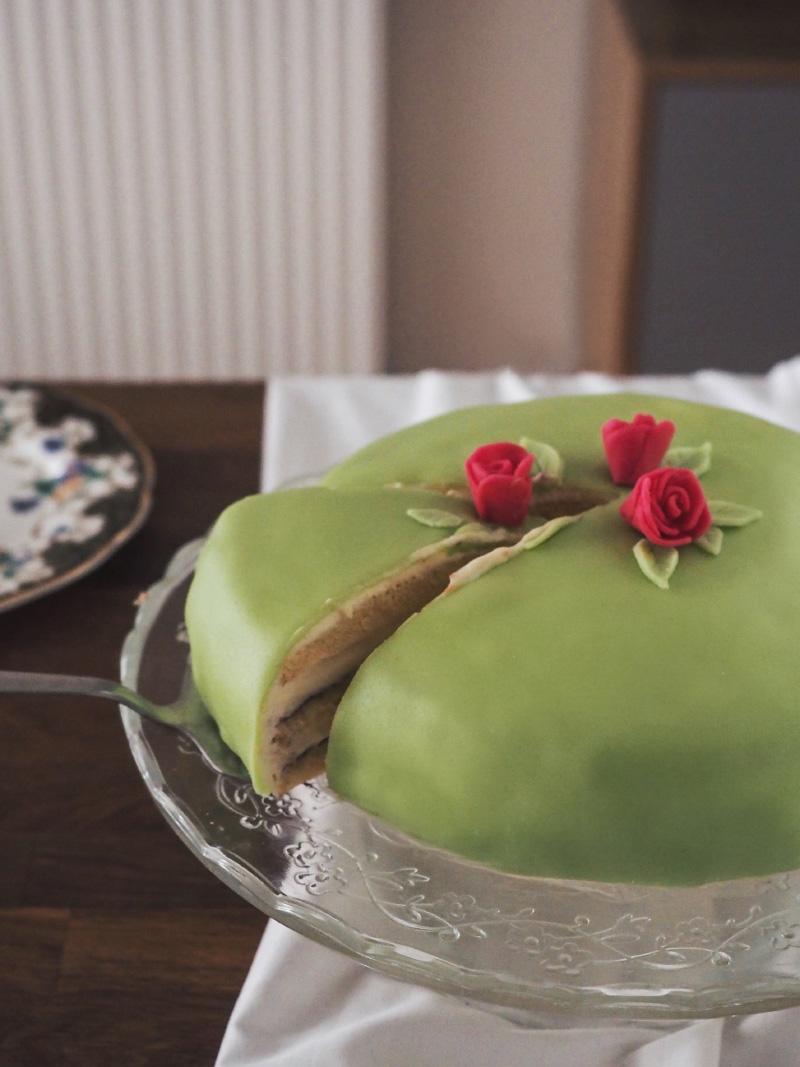 Pâtisserie suédoise : le Prinsesstårta