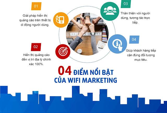 Khác biệt của wifi marketing