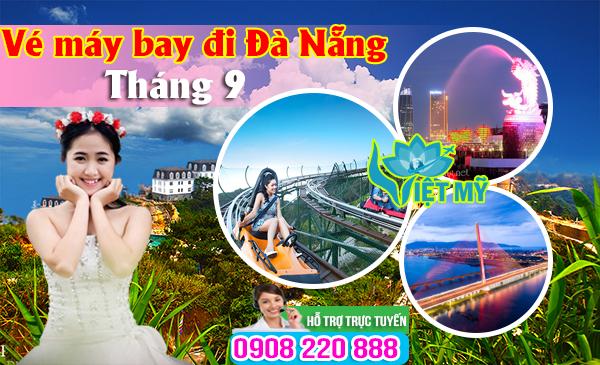 Giá Vé máy bay đi Đà Nẵng tháng 9