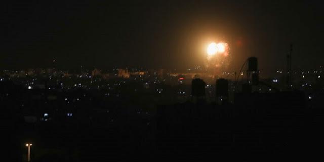 Israel Serang Jalur Gaza Dengan Rudal, Tembak Mati Warga Palestina Di Tepi Barat