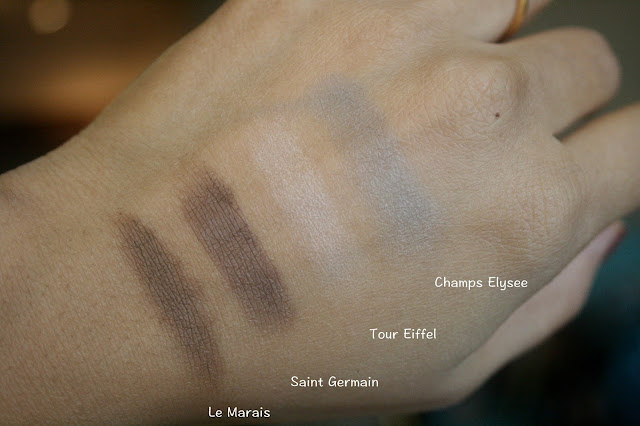 Laura Mercier Paris After The Rain Eye Color Palette Swatches