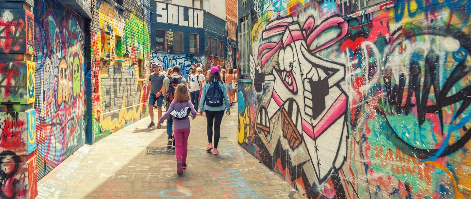 ruelle aux graffitis : Werregarenstraatje gand