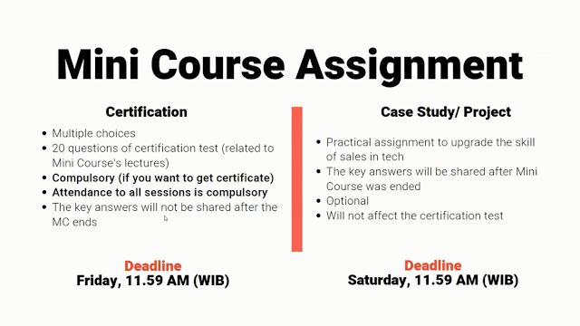 RevoU Mini Course Assignment