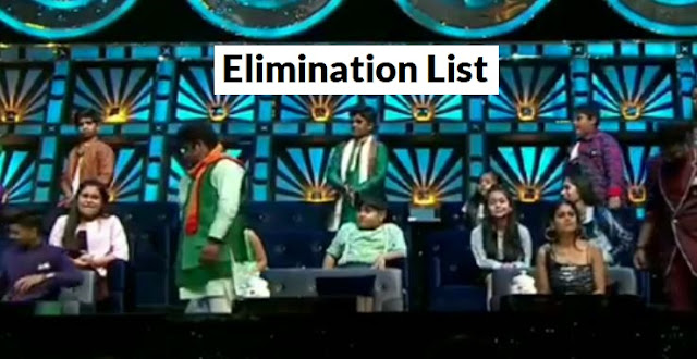 superstar singer elimination