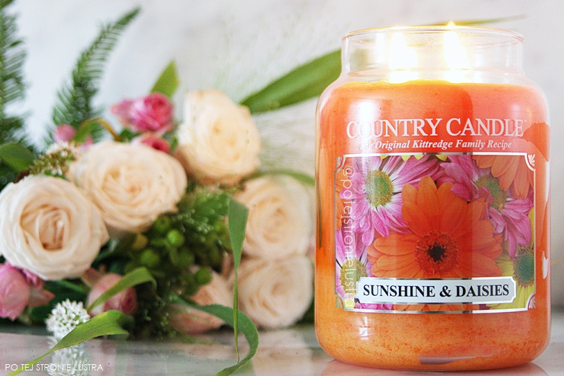 świeca zapachowa country candle sunshine & daisies