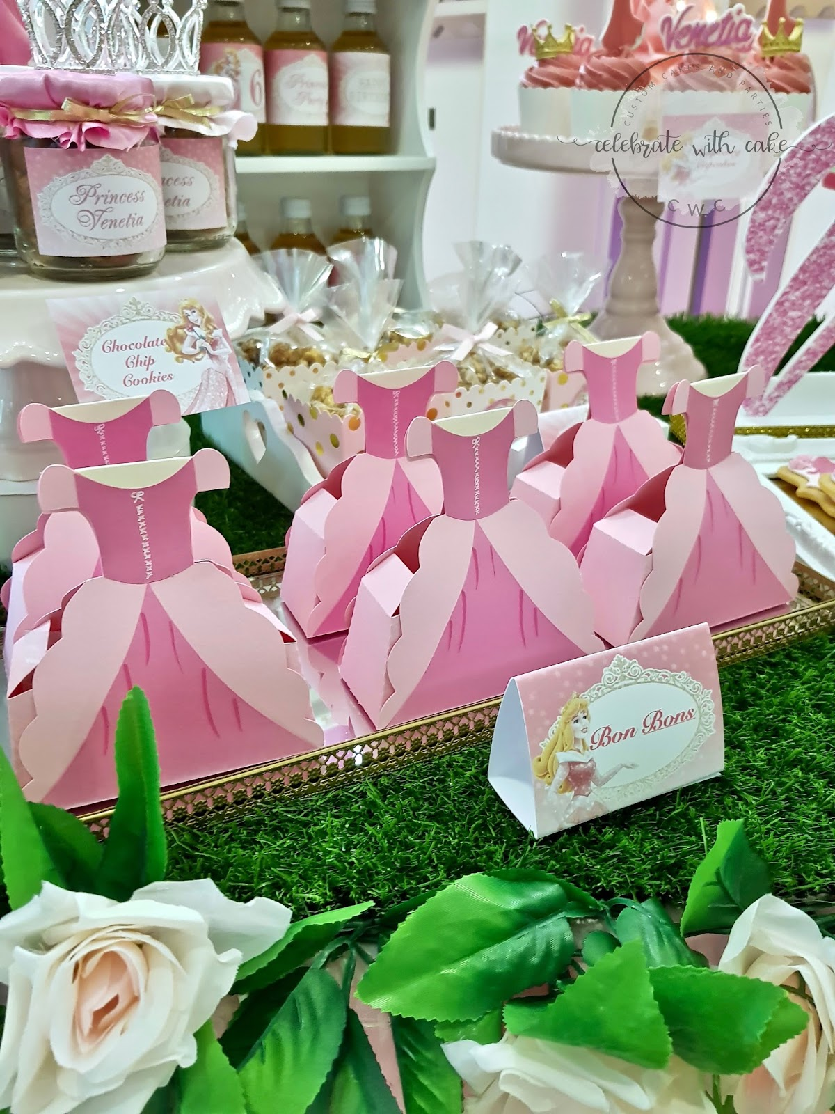 Celebrate with Cake!: Sleeping Beauty themed Dessert Table (Please ...
