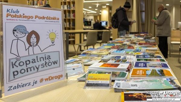 Kopalnia Pomysłów - darmowe przewodniki na spotkaniach Klubu Ruszaj w Drogę!