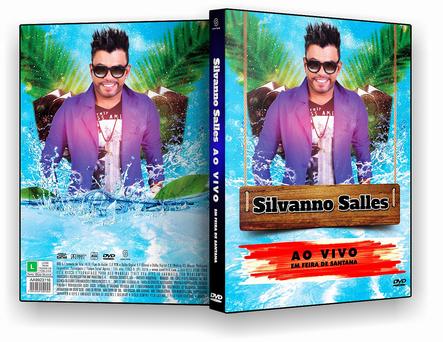 DVD - Silvanno Salles Ao Vivo 2018 - ISO