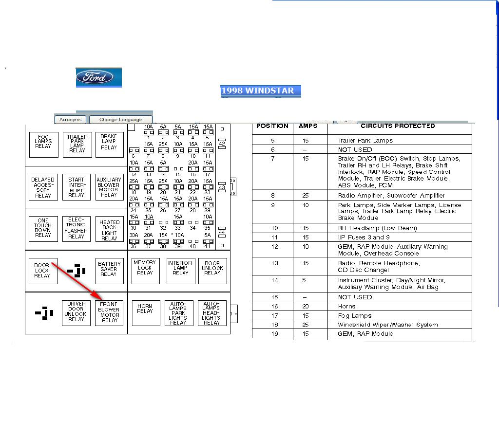2012 ford mustang fuse box diagram
