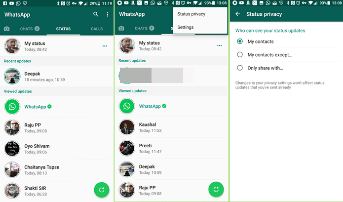 How To Save Whatsapp Status And Stories